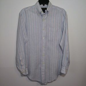 Brooks Brothers Linen Long Sleeve Button Down